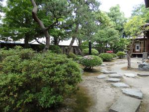 砂丘館の主庭