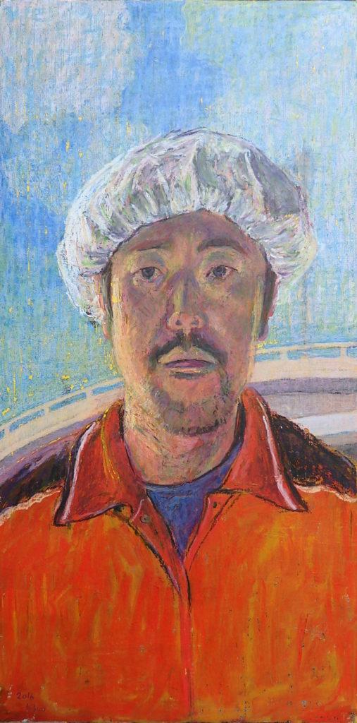 井田英夫展の画像