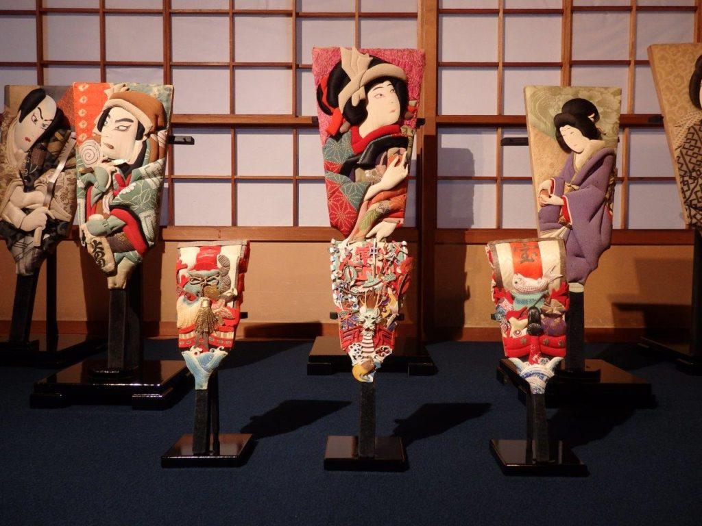 新潟市・佐藤家の羽子板展示の画像