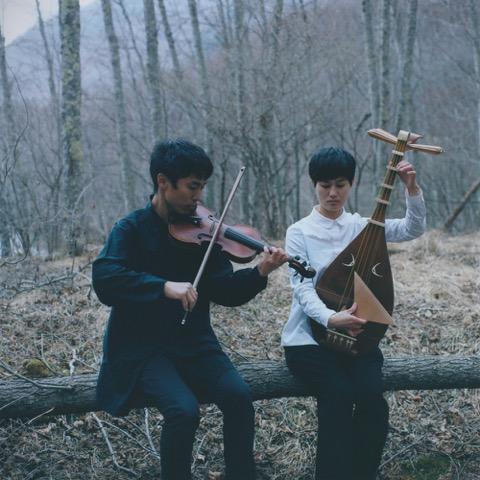strings um 演奏会 「標(しるべ)」 琵琶とヴァイオリンの音をの画像
