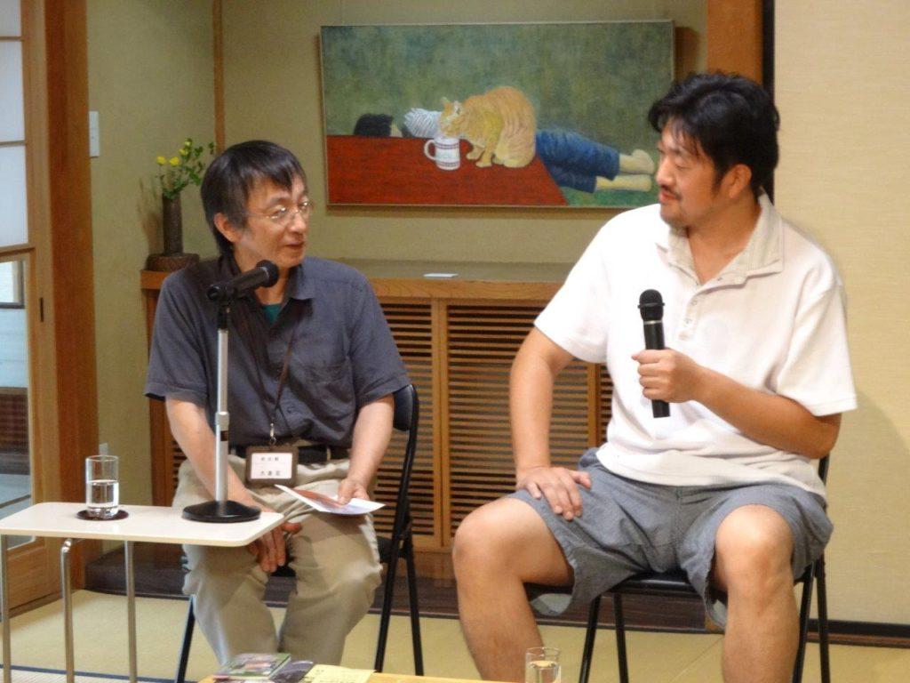 井田英夫遺作展ギャラリートークを動画配信します。の画像